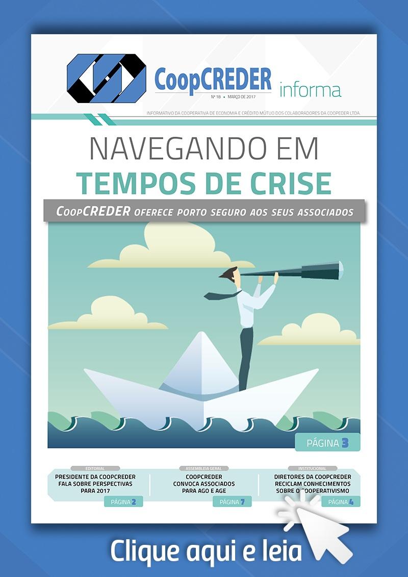 Jornal CoopCREDER 18 Capa Link